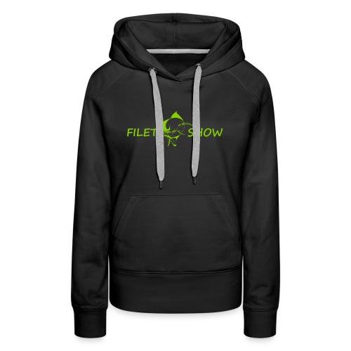 Green_logo_for_shirts - Women's Premium Hoodie