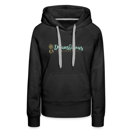 Dreambitious-Dynasty-Logo-MintGold_-1- - Women's Premium Hoodie