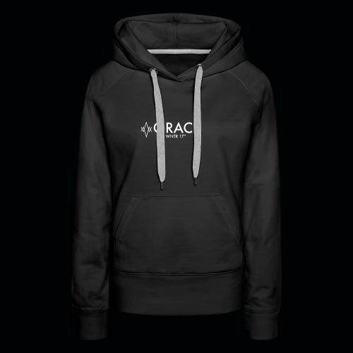 ORACL LOGO WHITE - Women's Premium Hoodie