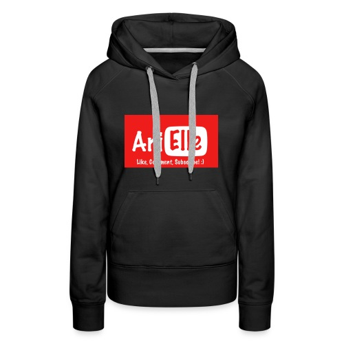 ARIELLE THE YOUTUBER Collection - Women's Premium Hoodie