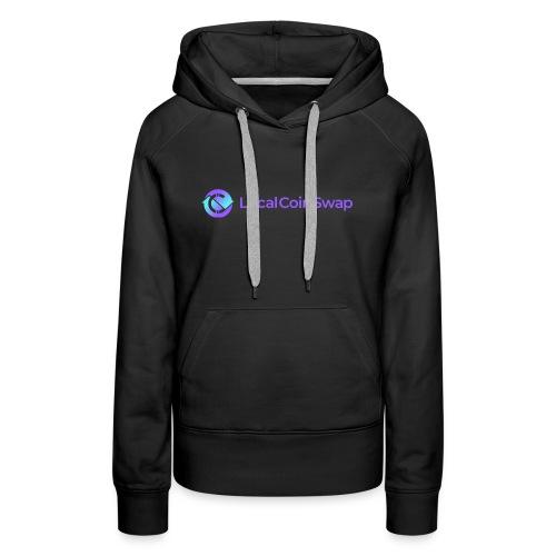 Logo white bg - Women's Premium Hoodie
