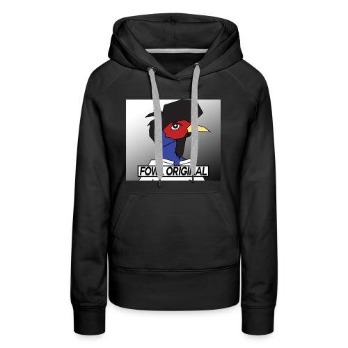 Fowl Original Logo - Women's Premium Hoodie