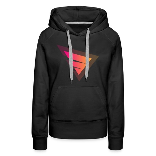 Logo IteX with another background logo - Women's Premium Hoodie
