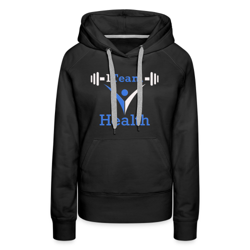 1TH - Blue and White - Women's Premium Hoodie