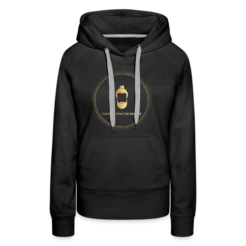 Punting For The People Print - Women's Premium Hoodie