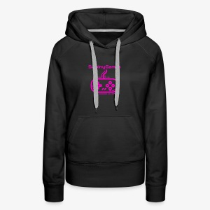 SwainyGames-pink - Women's Premium Hoodie
