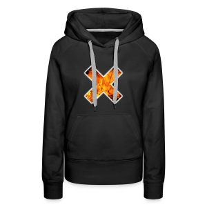 THE BURNING X - Women's Premium Hoodie