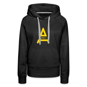 Limited Edition Gold Aspect Logo Sweatshirt - Women's Premium Hoodie