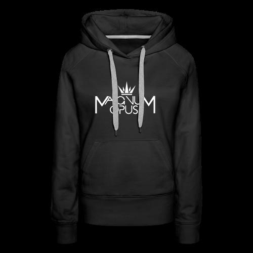 MOCC Magnum Opus WHT - Women's Premium Hoodie
