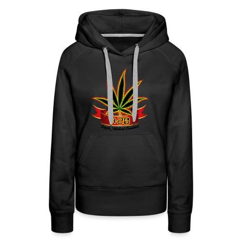 support_medical_cannabis_420 - Women's Premium Hoodie