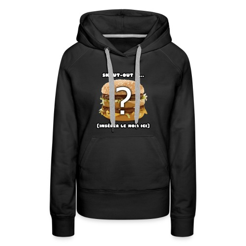 SOPHISTICATED - Women's Premium Hoodie