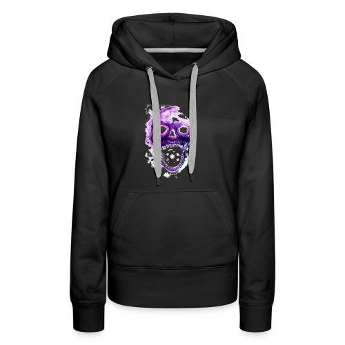 Skull vs galaxies - Women's Premium Hoodie