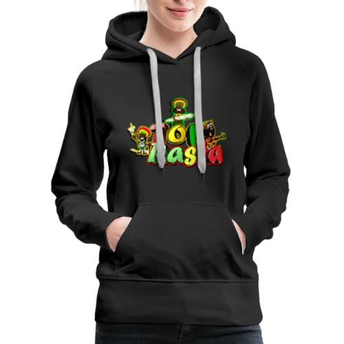 Top Rasta T Shirts copy - Women's Premium Hoodie
