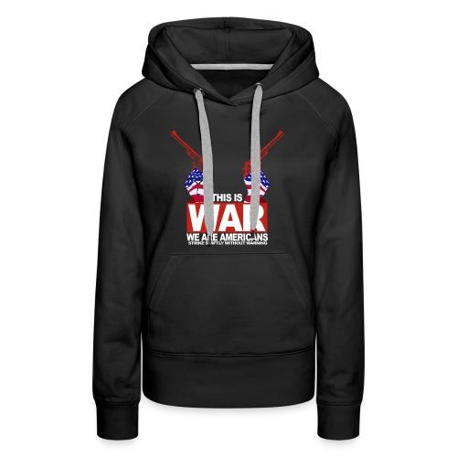 War USA - Women's Premium Hoodie
