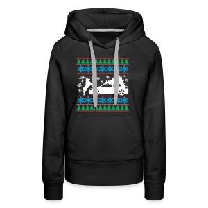MK6 GTI Ugly Christmas Sweater - Women's Premium Hoodie