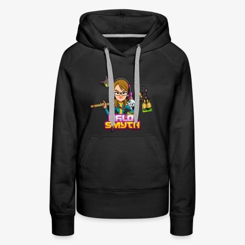 Halo Smyth & Logo - Women's Premium Hoodie