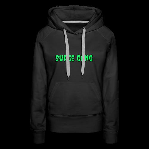 Surge Gang Slime - Women's Premium Hoodie