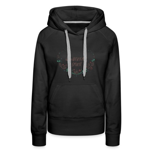 WONDERFULL WONDERFALL SPIRIT - Women's Premium Hoodie