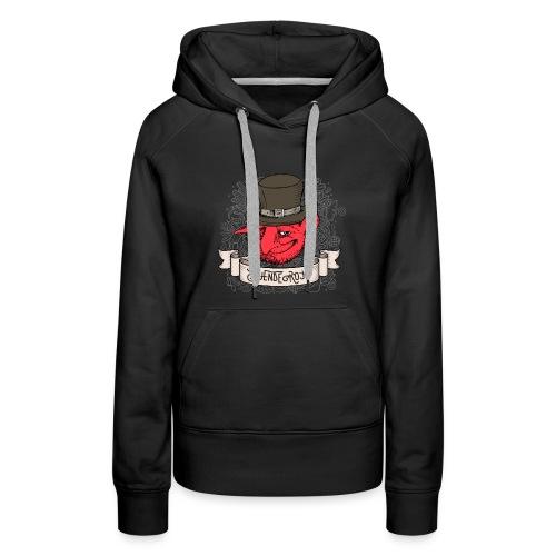 Duende Rojo - Women's Premium Hoodie