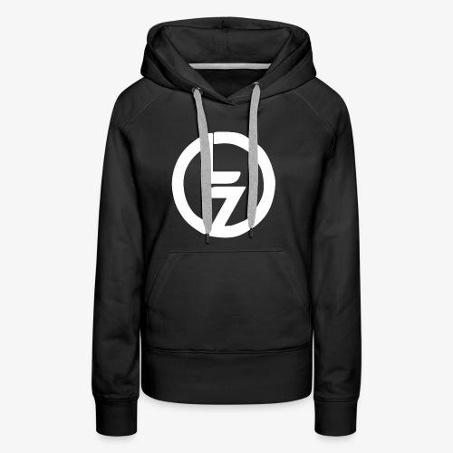 White LZ Logo - Women's Premium Hoodie