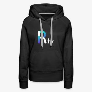 Rtv logo blanco - Women's Premium Hoodie