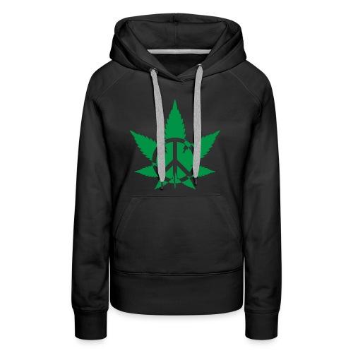 Peace Weed - Women's Premium Hoodie