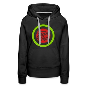 TEAM MELLI RETRO BADGE - Women's Premium Hoodie