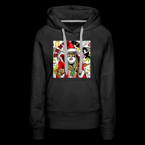 Santa Pack (Christmas Hip-Hop Gear) - Women's Premium Hoodie