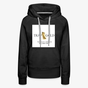 trap gold logo - Women's Premium Hoodie