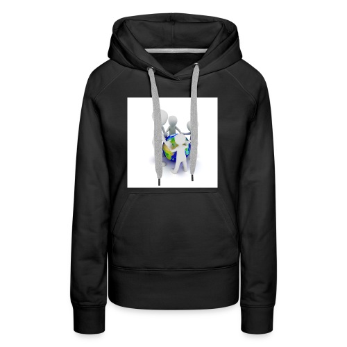 Save The Earth Presnt for all - Women's Premium Hoodie