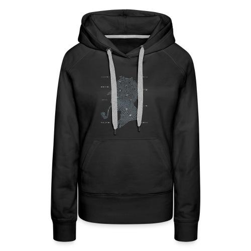 Print Analysis T-Shirt - Women's Premium Hoodie