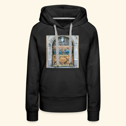 Shut the Front Door Let's Pray ! - Women's Premium Hoodie