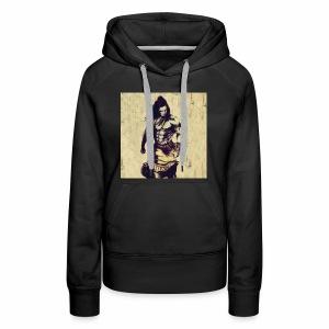 Lord_Shiva_Walk - Women's Premium Hoodie