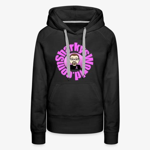 Sharkys World Breast Cancer Awareness - Women's Premium Hoodie
