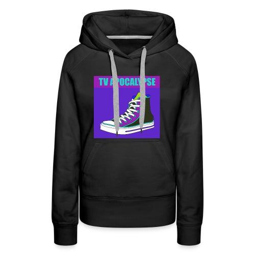 tvApocalypse Converse Shoe T-Shirt - Women's Premium Hoodie