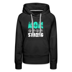 GYM + FITNESS - MOM STRONG - Women's Premium Hoodie