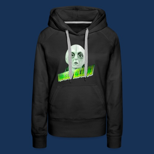 Inked Alien Logo #2 - Women's Premium Hoodie