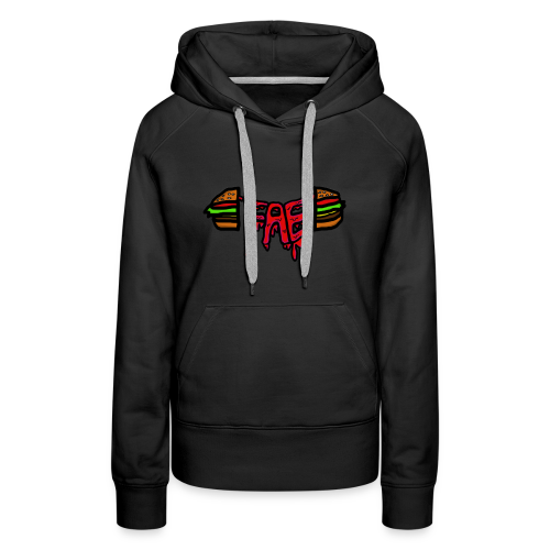 Fae logo - Burger - Women's Premium Hoodie