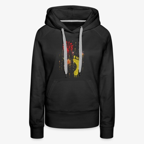 Abstract, Gift For Her And Him - Women's Premium Hoodie