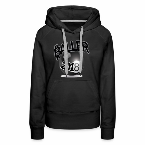 Only Ballers Can Wear This - Women's Premium Hoodie