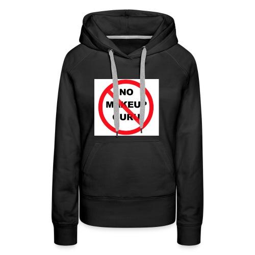 NO MAKEUP GURU - Women's Premium Hoodie