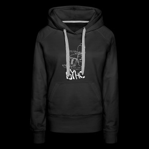 Give 'Em The Chair - Women's Premium Hoodie