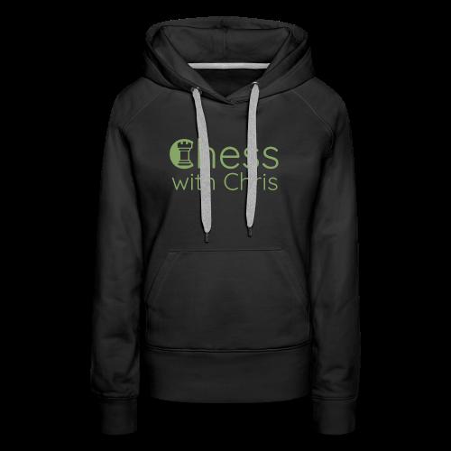 Chess With Chris Logo - Women's Premium Hoodie