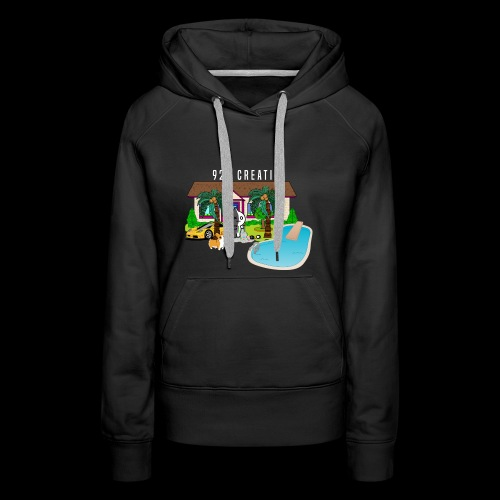 920 Collectiv HOUSE design - Women's Premium Hoodie