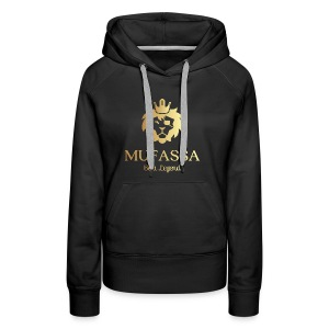 MUFASSA- King your own jungle of life - Women's Premium Hoodie