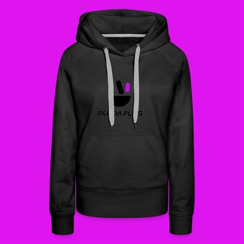 Plug de Música logo - Women's Premium Hoodie