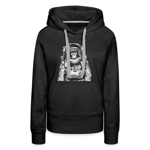 Monkey Astronaut - Women's Premium Hoodie