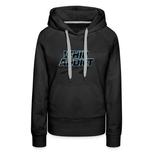 WhipAddict Black - Women's Premium Hoodie