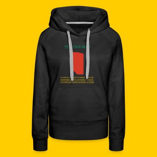 Yes, I'm a nerd deal with it - Women's Premium Hoodie