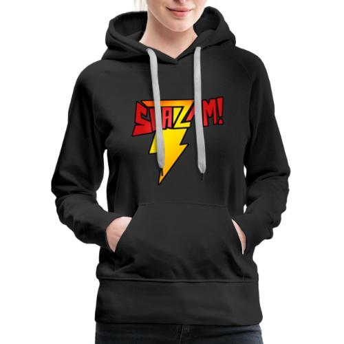 TheComicHQ - SHAZAM! - Women's Premium Hoodie